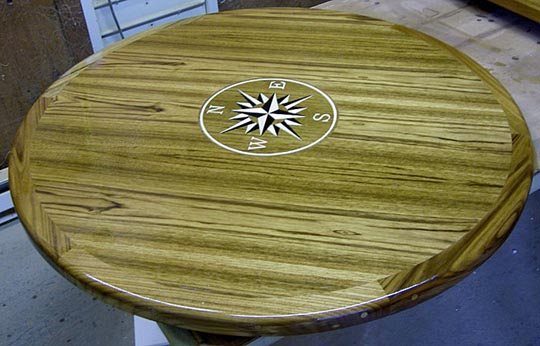 Custom Wood Table Tops Cockpit Tables Amp Galley Tables For