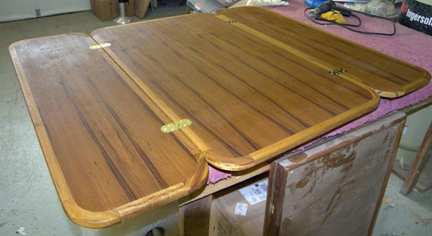 folding table top extender 1