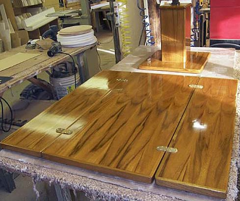 Custom Wood Table Tops Cockpit Tables Amp Galley Tables