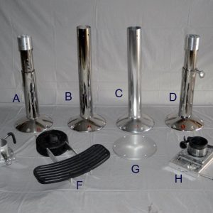 Stainless Steel Boat Pedestal